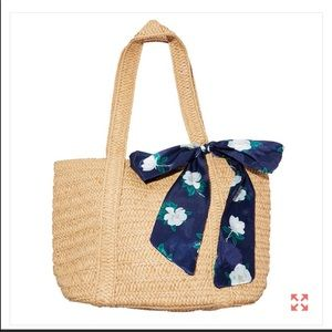 NWT Draper and James bag with floral scarf